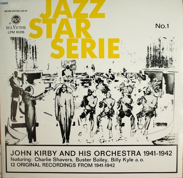 Kirby, John and his Orchestra: Jazz Star Serie No.1