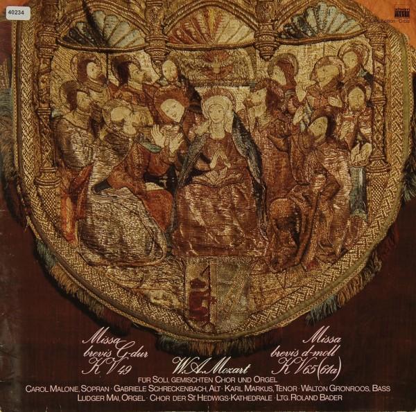 Mozart: Missa Brevis KV 49 & KV 65 (61a)