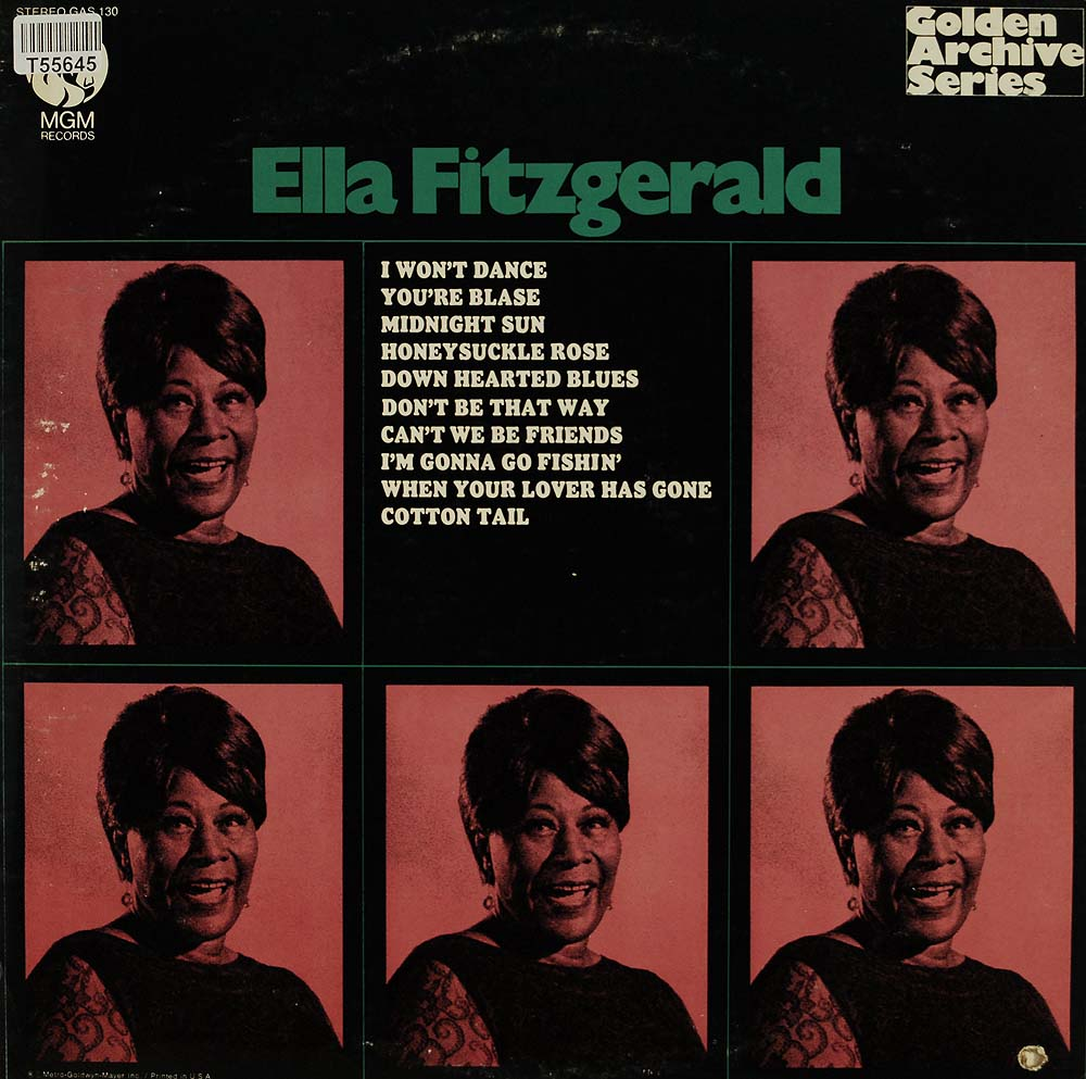 ella fitzgerald ella fitzgerald swing jazz blues gebrauchte lps und cds kaufen. Black Bedroom Furniture Sets. Home Design Ideas