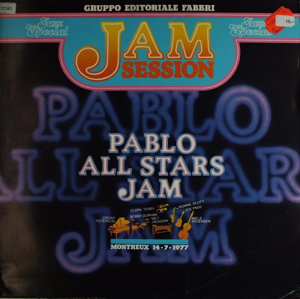 Pablo All Stars Jam: Jam Session Montreux 14.7.1977