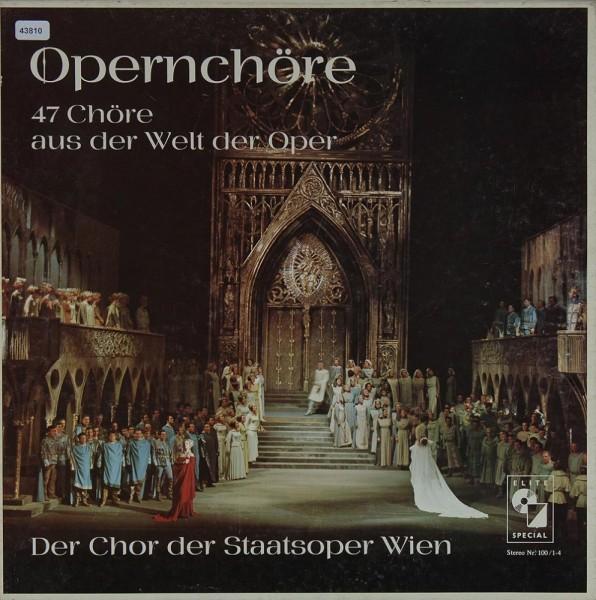 Verschiedene: Opernchöre