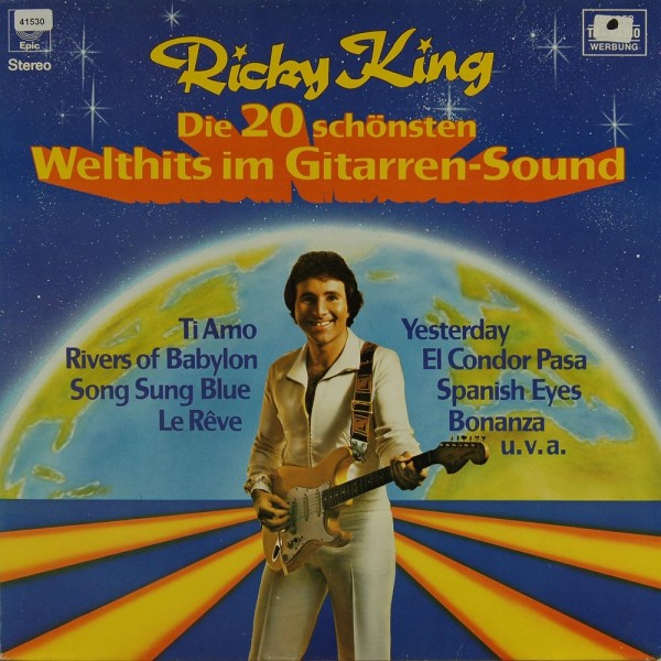 King, Ricky: Die 20 schönsten Welthits im Gitarren-Sound