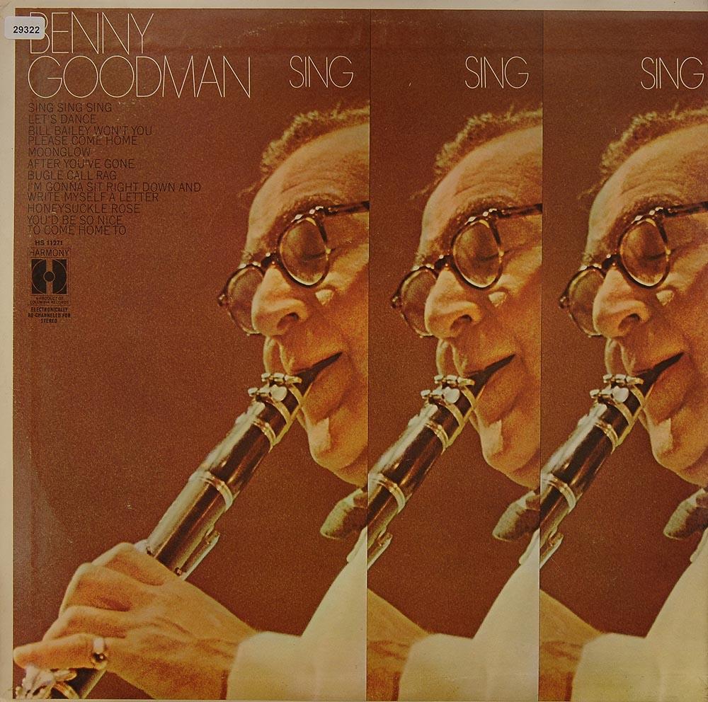 goodman benny sing sing sing big band easy listening jazz blues gebrauchte lps und cds. Black Bedroom Furniture Sets. Home Design Ideas