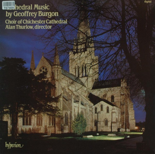 Geoffrey Burgon - Choir Of Chichester Cathe: Cathedral Music By Geoffrey Burgon