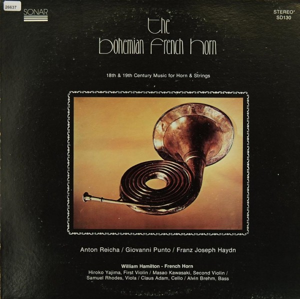 Reicha / Punto / Haydn: The Bohemian French Horn