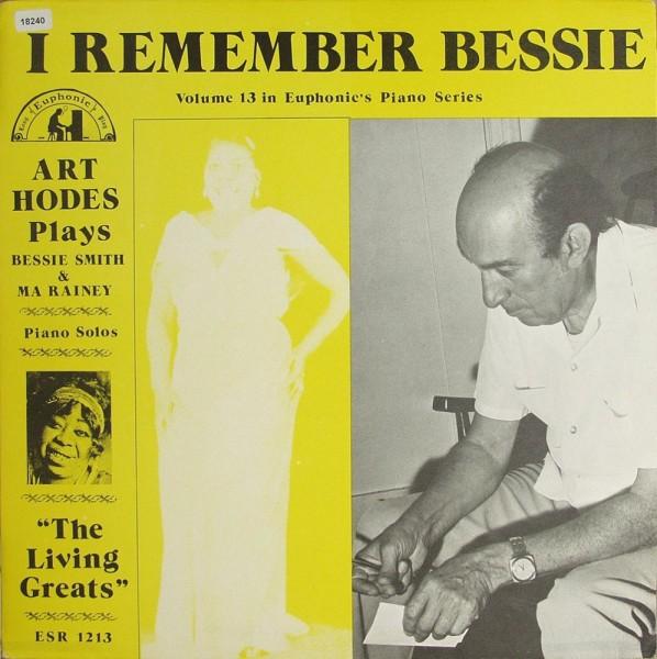 Hodes, Art: I Remeber Bessie