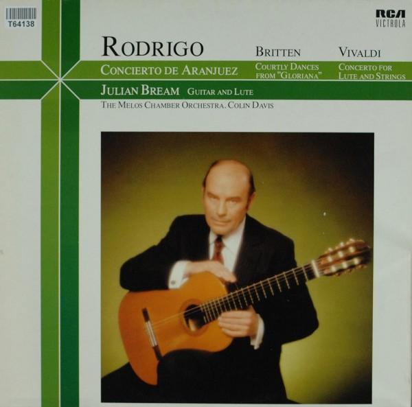 """Joaquín Rodrigo / Benjamin Britten / Antoni: Concierto De Aranjuez / Courtly Dances From """"Gloriana"""""""