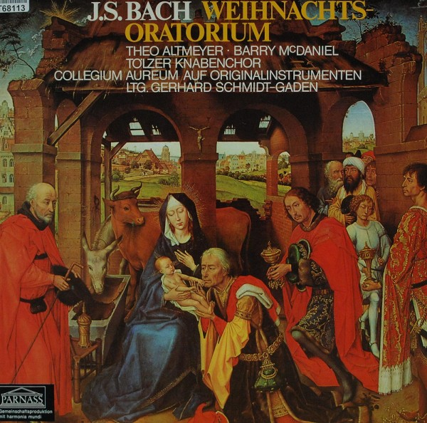 Johann Sebastian Bach ; Theo Altmeyer, Barr: Weihnachtsoratorium