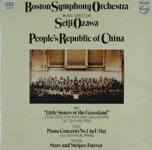 Wu Tsu-Chiang / Franz Liszt / John Philip S: People's Republic Of China