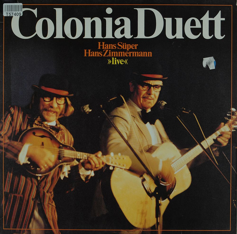 colonia duett live comedy sprache liedermacher rock. Black Bedroom Furniture Sets. Home Design Ideas