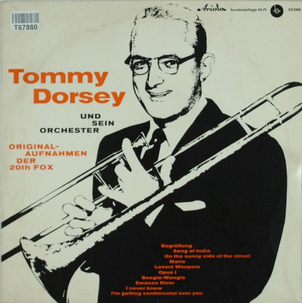 Tommy Dorsey And His Orchestra: Tommy Dorsey Und Sein Orchester