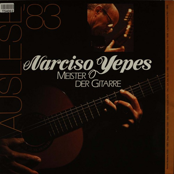 Narciso Yepes: Meister Der Gitarre (Auslese '82)