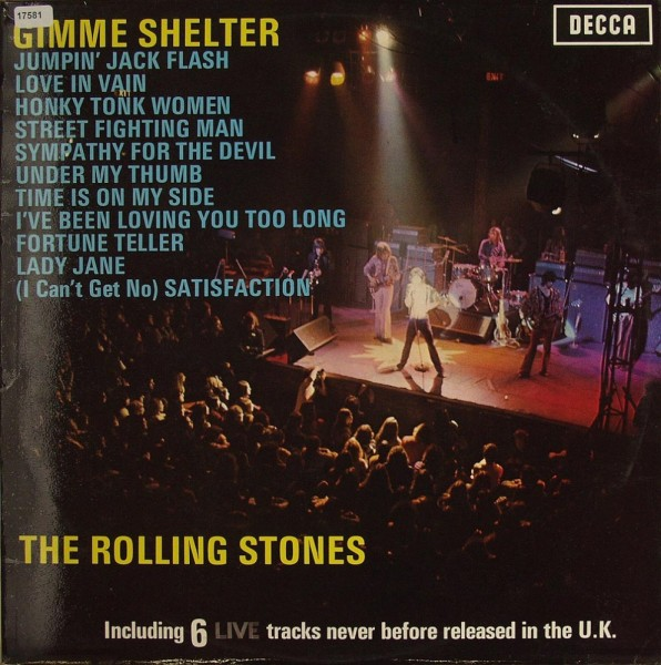 Rolling Stones, The: Gimme Shelter