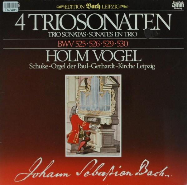 Johann Sebastian Bach, Holm Vogel: 4 Triosonaten BWV 525 • 526 • 529 • 530 - Schuke-Orgel