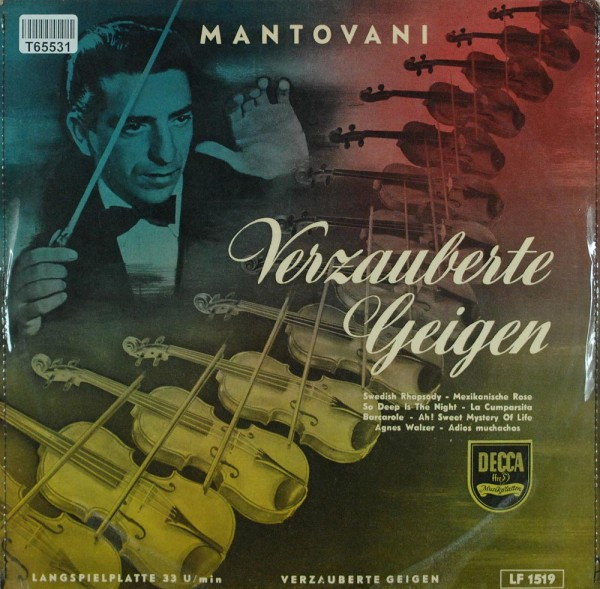 Mantovani: Mantovani And His Magic Violins