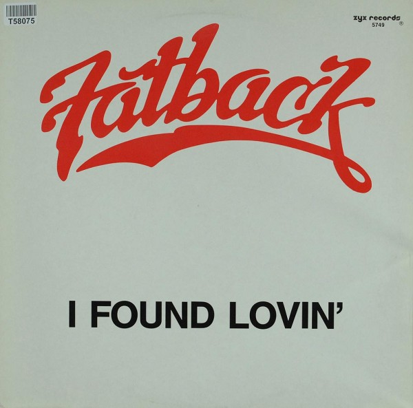 The Fatback Band: I Found Lovin'