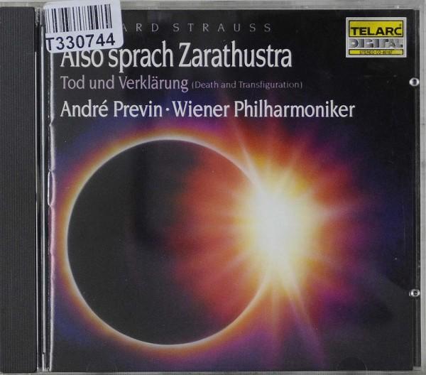 Richard Strauss, André Previn • Wiener Philh: Also Sprach Zarathustra - Tod Und Verklärung (Death An