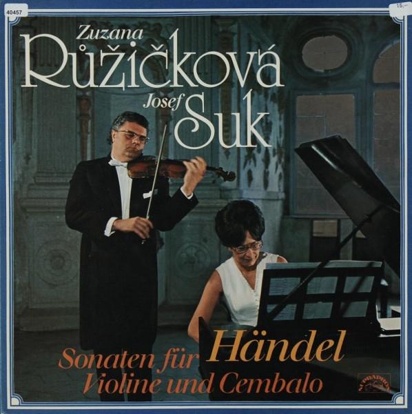 Händel: Sonaten für Violine & Cembalo