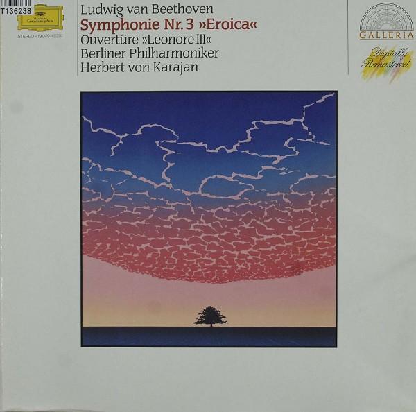 Ludwig van Beethoven, Herbert von Karajan, B: Symphony No. 3 »Eroica« & Overture »Leonore III«