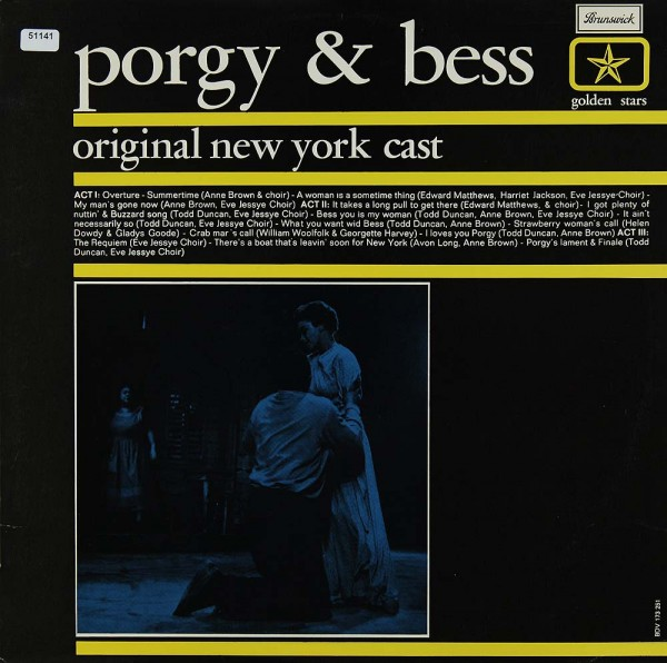 Original New York Cast: Porgy & Bess (Gershwin)