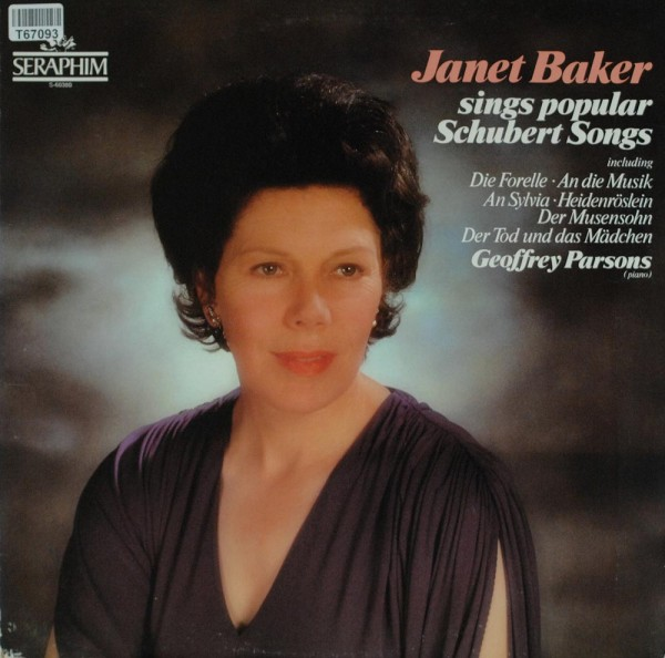 Janet Baker, Geoffrey Parsons: Popular Schubert Songs