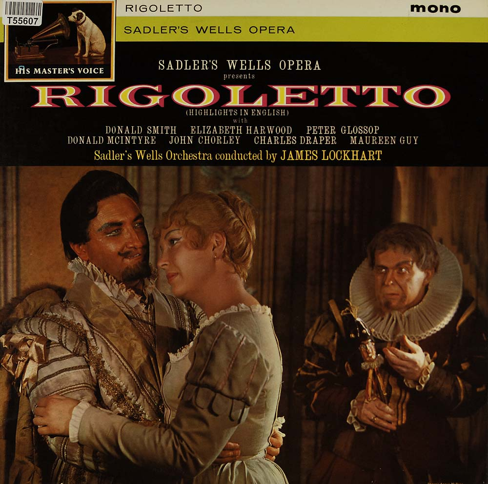 sadler 39 s wells opera company giuseppe verdi rigoletto oper operette klassik gebrauchte. Black Bedroom Furniture Sets. Home Design Ideas
