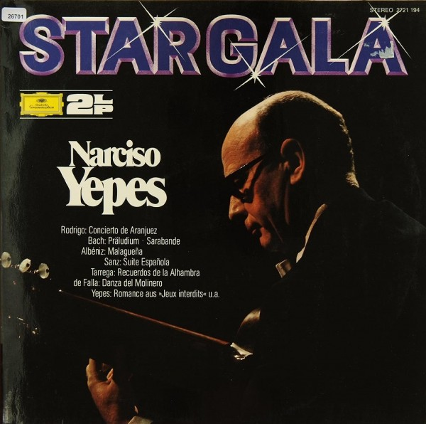 Yepes, Narciso: Stargala