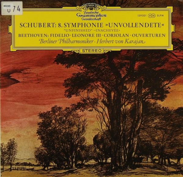 "Schubert / Beethoven: Symphonie Nr. 8 ""Unvollendete"" / Ouvertüren"