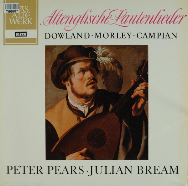 Peter Pears, Julian Bream: Altenglische Lautenlieder
