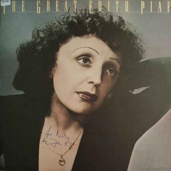 Piaf, Edith: The great Edith Piaf