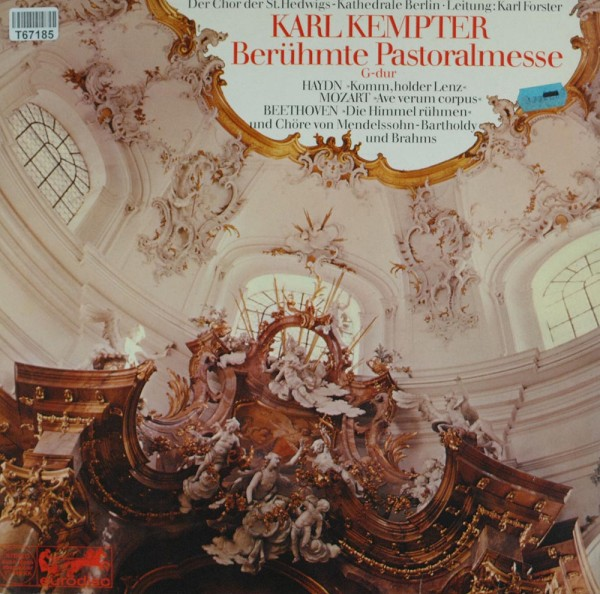 Karl Kempter, Wolfgang Amadeus Mozart, Feli: Berühmte Pastoralmesse G-Dur Op. 24