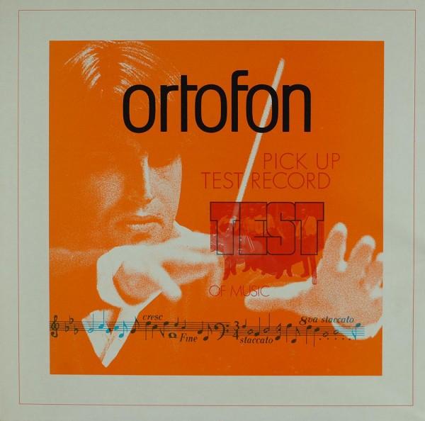 Various: Ortofon Pick Up Test Record