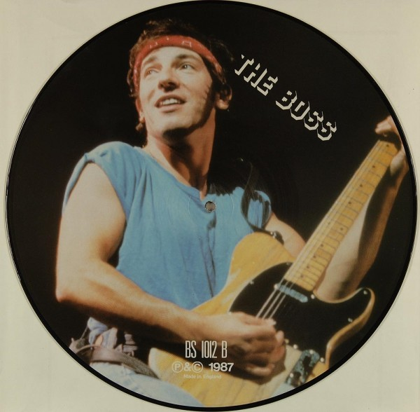 Springsteen, Bruce: The Boss - Interview Picture Disc Limited Edition