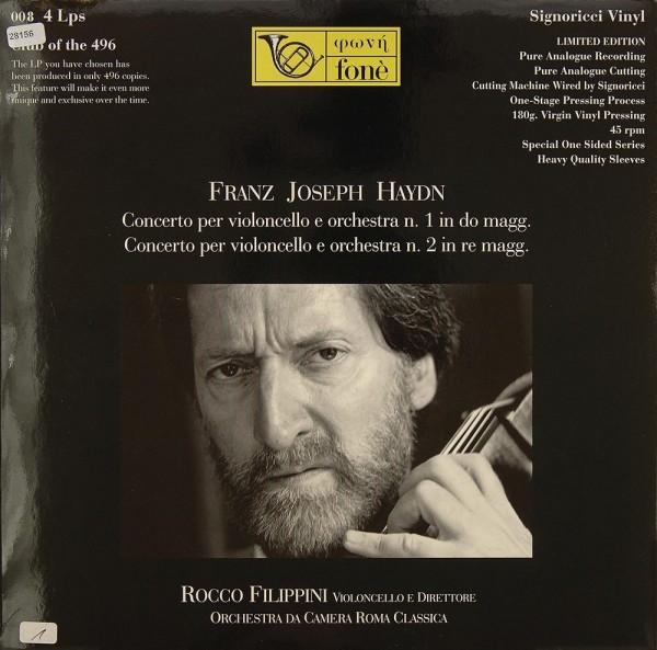 Haydn: Concerto per Violoncello e Orchestra Nr. 1 & 2