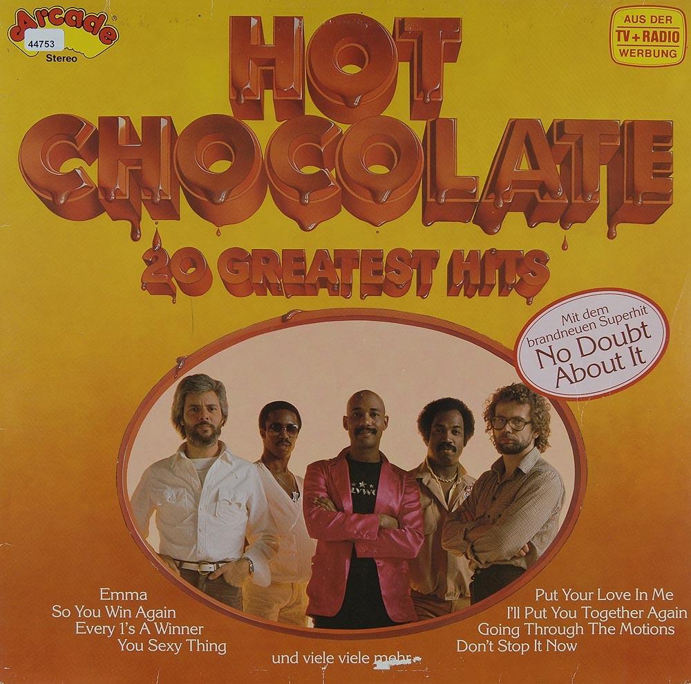 hot chocolate 20 greatest hits funk soul rock pop und alles andere gebrauchte lps und. Black Bedroom Furniture Sets. Home Design Ideas