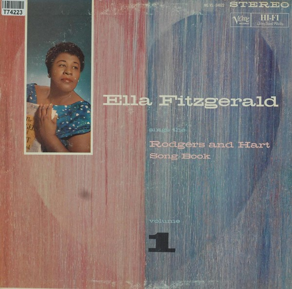 Ella Fitzgerald: Sings The Rodgers And Hart Song Book Volume 1