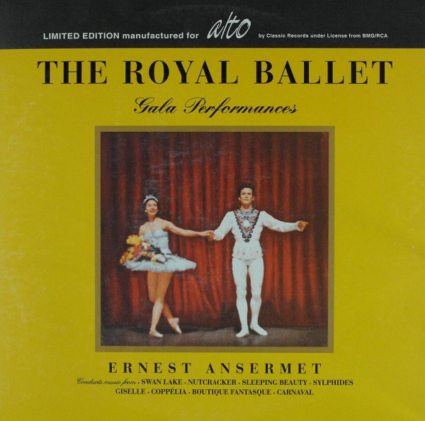 Ernest Ansermet: The Royal Ballet Gala Performances