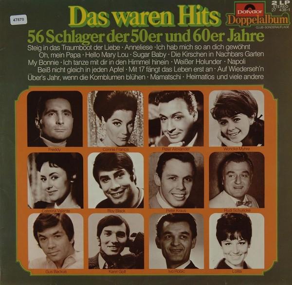 Various: Das waren Hits - 56 Schlager der 50er & 60er Jahre