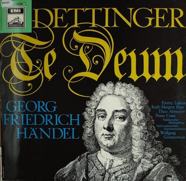 Händel: Dettinger Te Deum