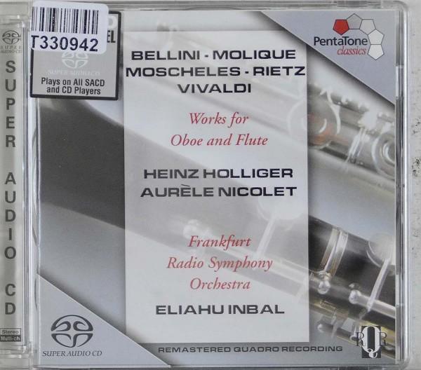Heinz Holliger, Aurèle Nicolet, Radio-Sinfon: Works For Oboe And Flute