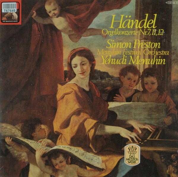Georg Friedrich Händel – Simon Preston, Ye: Orgelkonserte Nr, 7,11,12