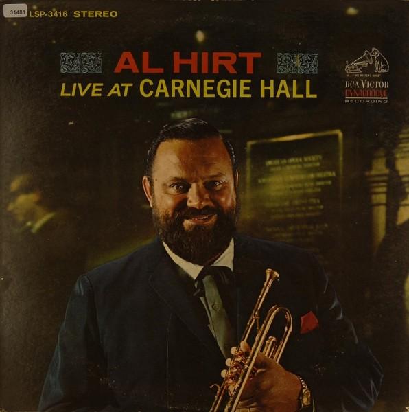 Hirt, Al: Live at Carnegie Hall