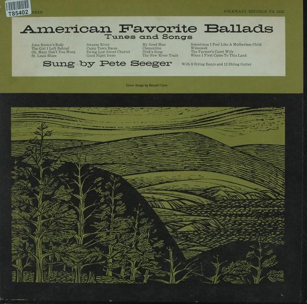 Pete Seeger: American Favorite Ballads, Vol. 3