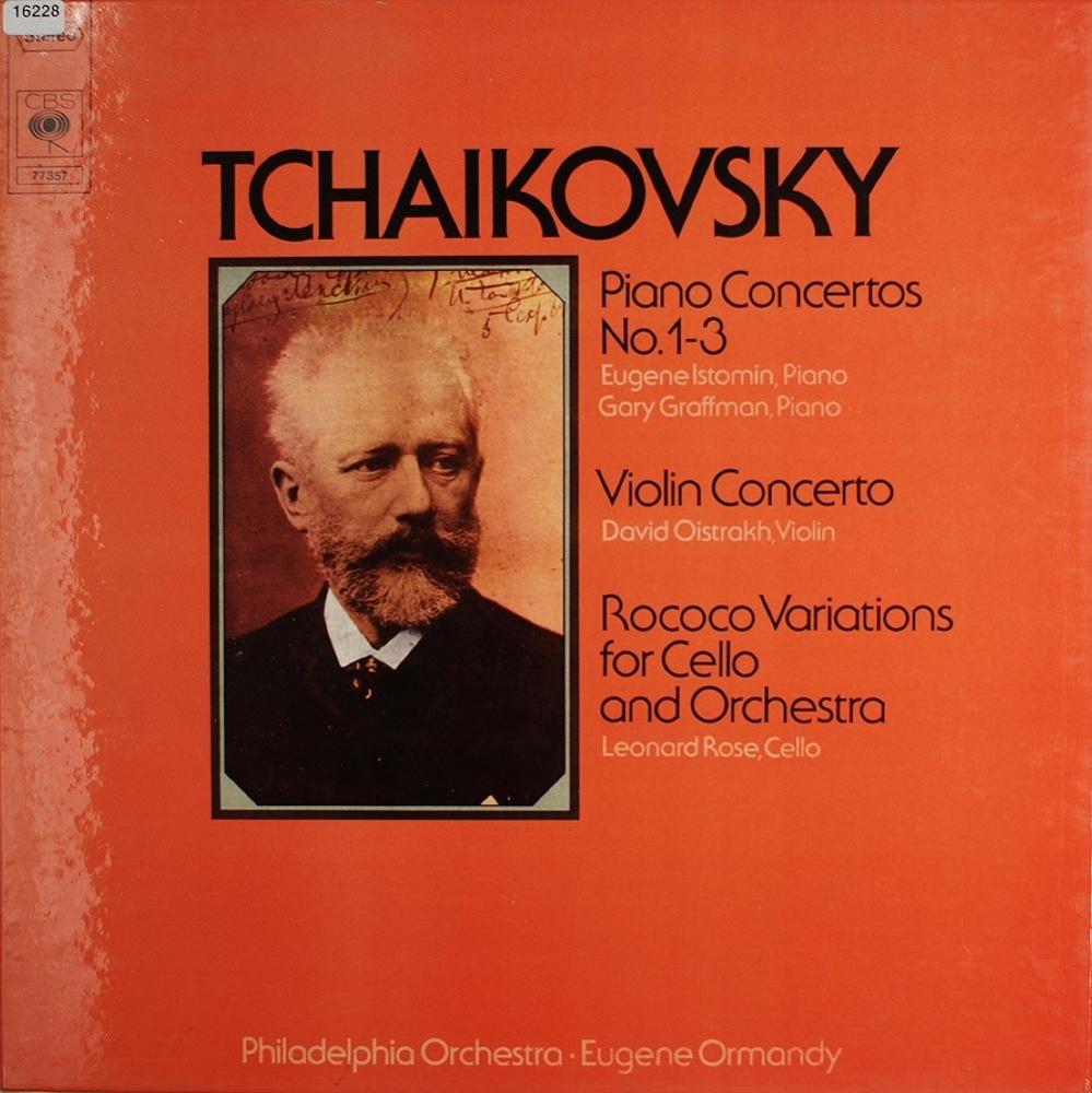 tschaikowsky concertos sinfonien ouvert ren orchester klassik gebrauchte lps und cds. Black Bedroom Furniture Sets. Home Design Ideas