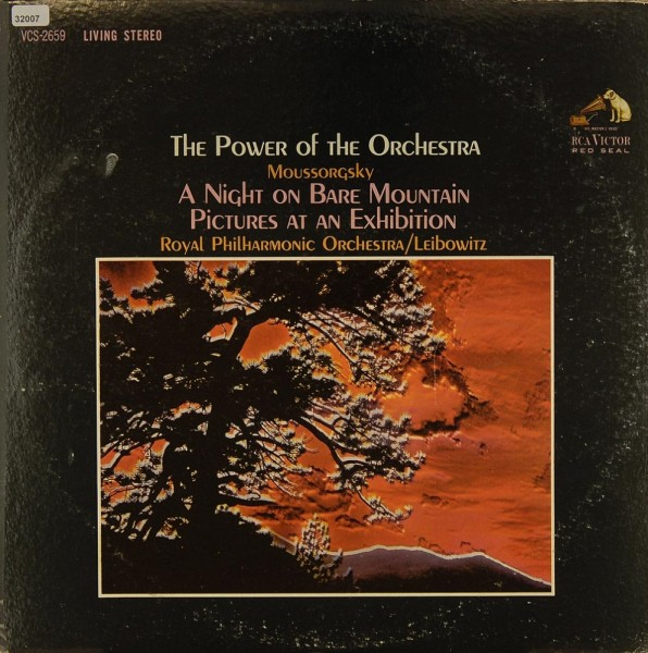 Leibowitz / Royal Philharmonic Orchestra: The Power of the Orchestra (Pieces of Mussorgsky)