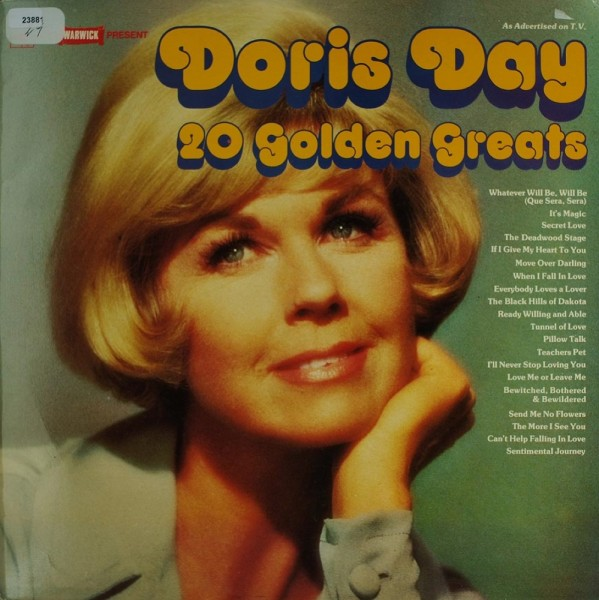 Day, Doris: 20 Golden Greats