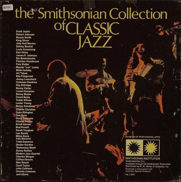 Various: The Smithsonian Collection of Classic Jazz