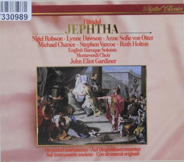 Georg Friedrich Händel – Nigel Robson, Lynne: Jephtha