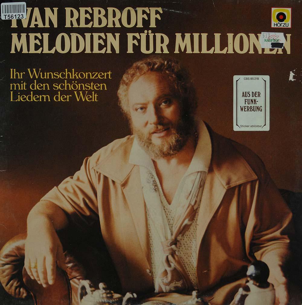 ivan rebroff melodien f r millionen lieder arien klassik gebrauchte lps und cds kaufen. Black Bedroom Furniture Sets. Home Design Ideas