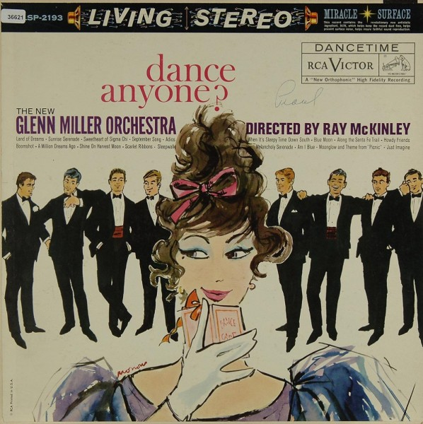 New Glenn Miller Orchestra, The / McKinley, Ray: Dance Anyone ?